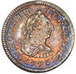 half real coin obverse